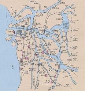 昔の大阪の川