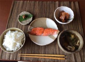農カフェの昼定食