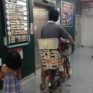 自転車でヨドバシカメラへ