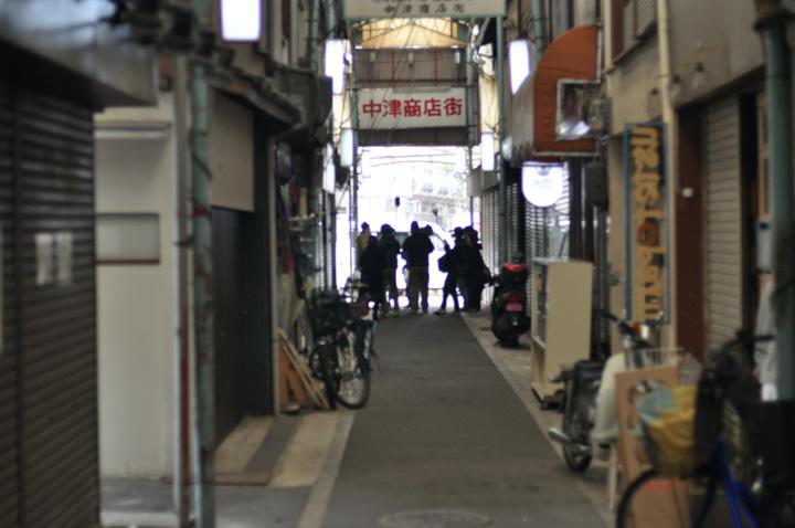 13日中津商店街付近で横山裕 錦戸亮 ジャニ勉ロケ