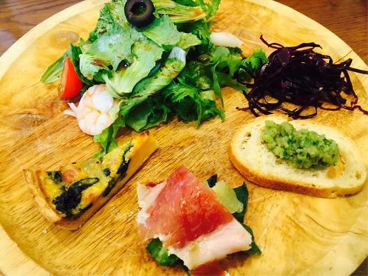 イタリア野菜の前菜盛合せ