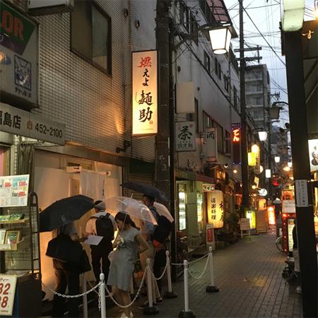 金久右衛門出身のお店が福島駅前に燃えよ麺助