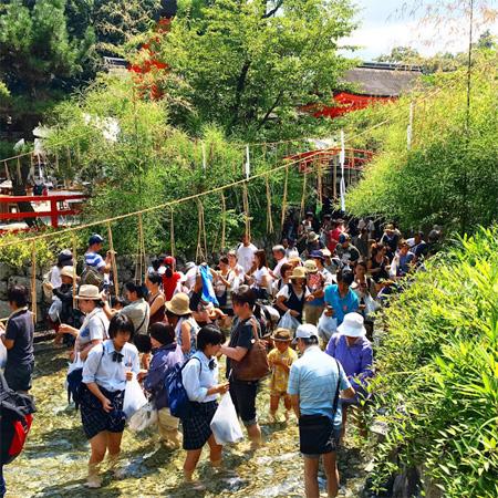 下賀茂神社みたらし祭り