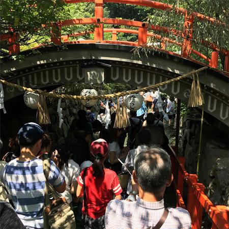 下賀茂神社みたらし祭り輪橋