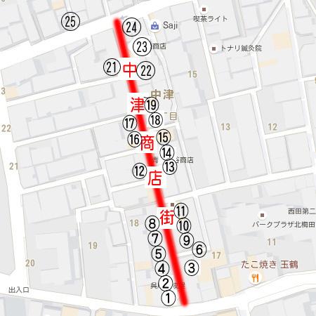 中津商店街