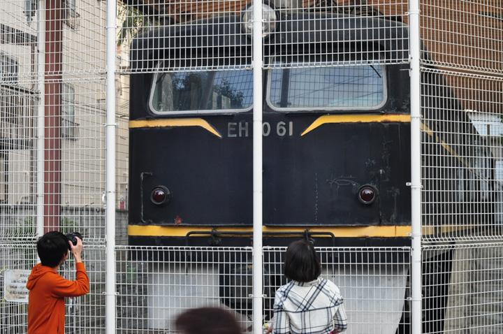 国内に唯一現存するEH10電気機関車