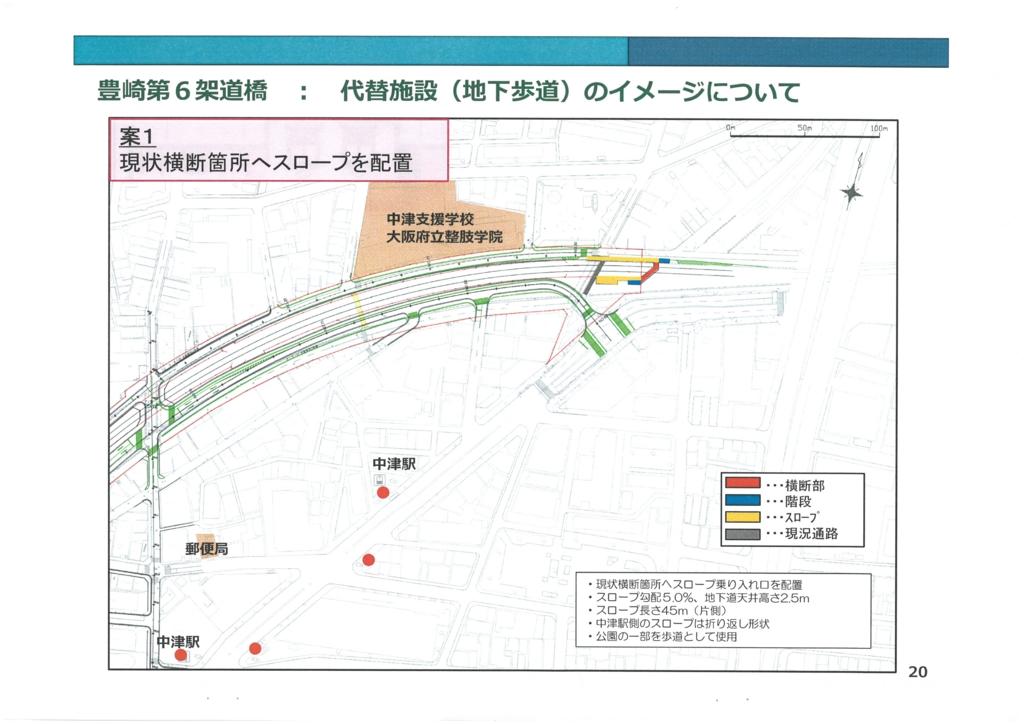 うめきた2期区域基盤整備事業《JR東海道線支線地下化事業》に関する説明会の追加資料 20/25