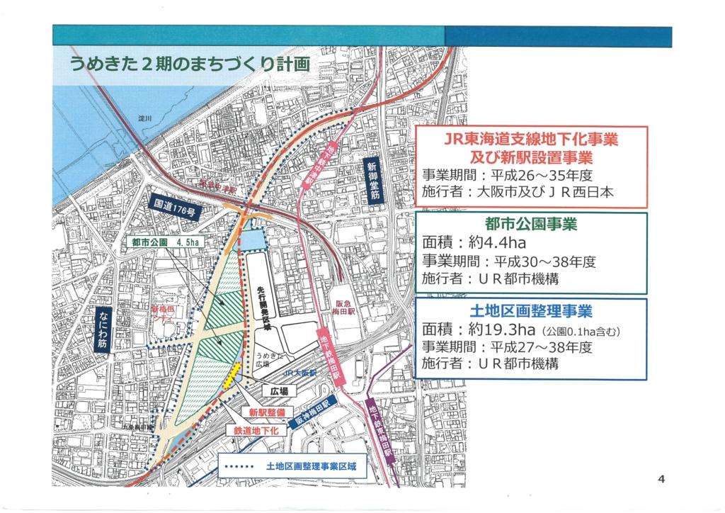 うめきた2期区域基盤整備事業《JR東海道線支線地下化事業》に関する説明会の追加資料 4/25
