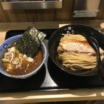阪急梅田駅、駅ナカの麺屋たけ井 つけ麺(並)